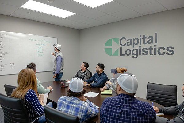 Capital Logistics meeting