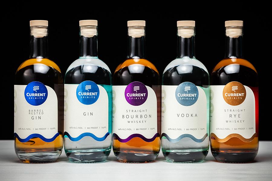 Current Spirits Bottles