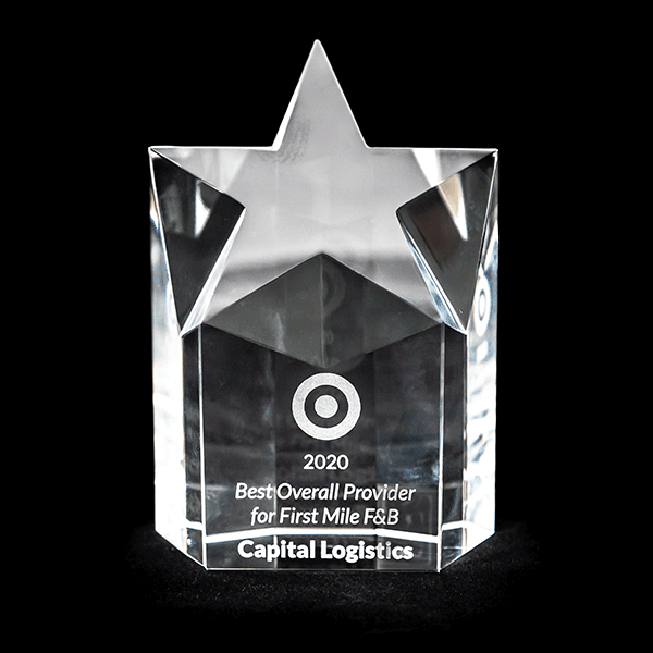 Target Award Capital Logistics 2020